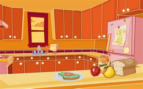 Kitchen Cartoon | kitchen background by kellistrator on deviantart