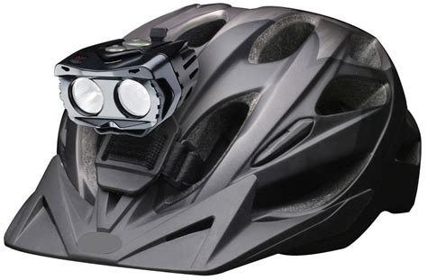 mountain bike helmet lights reviews cygolite 2011 bike light centauri helmet mount bikerumor