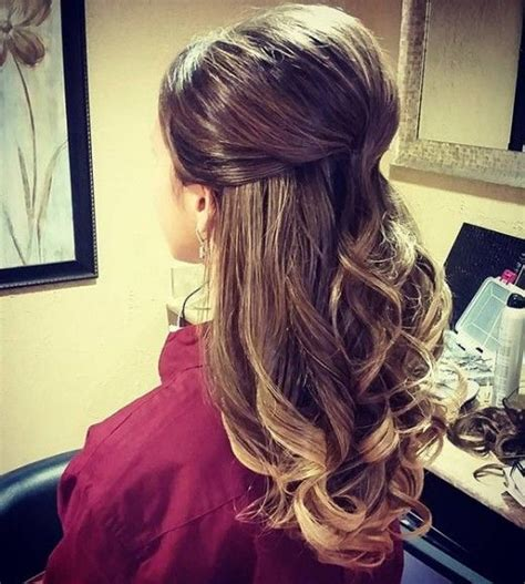 half up half down hairstyles thin hair top 30 hairstyles to cover up thin hair half updo thin
