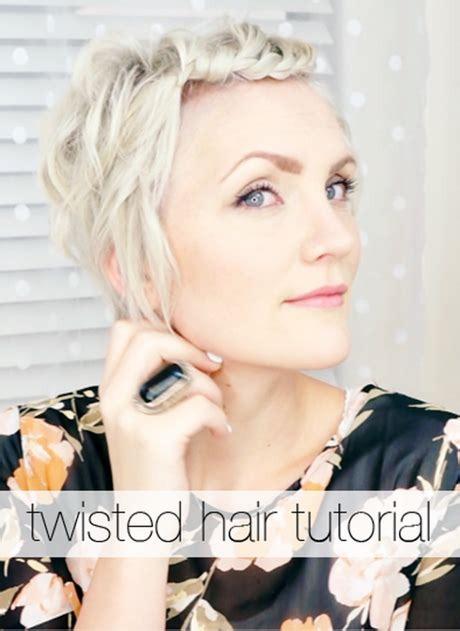 how to style hair that is shorter in the back than the front good ways to style short hair