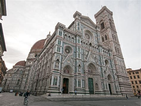 florence cathedral exterior cattedrale  santa maria de flickr