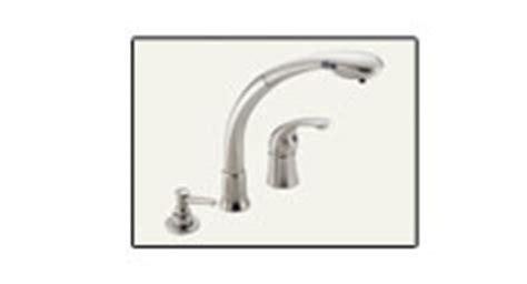 Delta 474 Faucet by Free Shipping On Kitchen Pullout Faucets By Grohe Moen