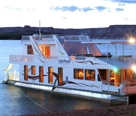 boat house for rent lake powell houseboat rentals utah and arizona