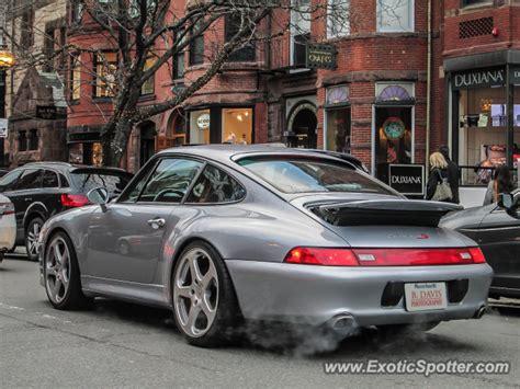 porsche 911 spotted in boston massachusetts on 04 13 2013
