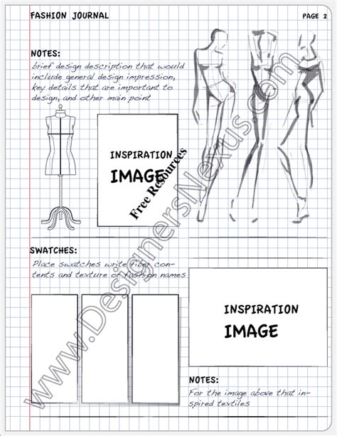 fashion portfolio layout ideas fashion design journal inspiration page layout v10