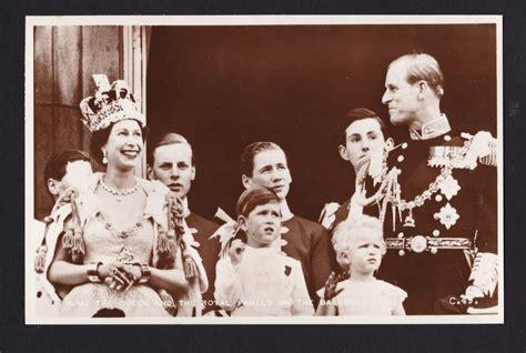 elizabeth ii last name 1953 valentines coronation real photo queen elizabeth