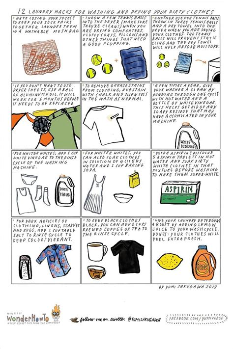 12 laundry hacks for washing drying your dirty clothes 171 the secret yumiverse