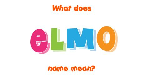 celebrity martyr meaning elmo name meaning of elmo