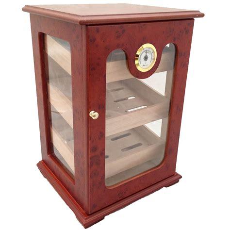 cigar humidor display cabinet cigar humidor 150 ct unique great display show box burlwood