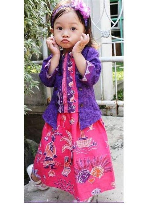 Baju Lengan Panjang Anak 4 model baju batik anak perempuan yang cantik
