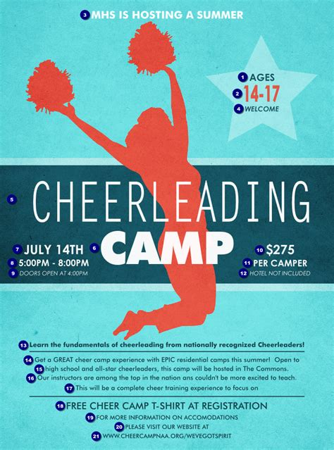 Cheerleading Flyer Template Quotes About Cheer Flyers Quotesgram
