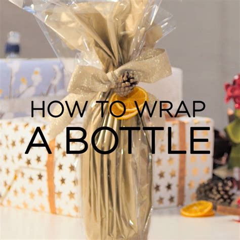 how to wrap presents how to wrap presents how to gift wrap bottles good