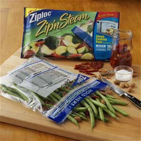 the nibble ziploc zip n steam microwave bags