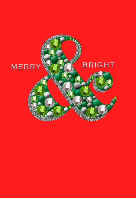 merry bright christmas card greeting cards hallmark