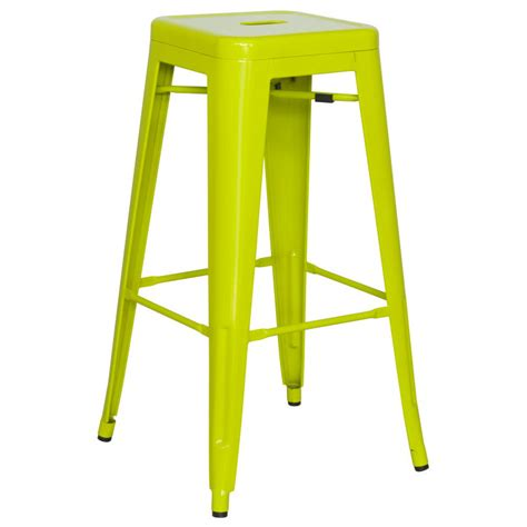 Lime Green Bar Stool Modern Bar Stools Alfredo Lime Green Bar Stool Eurway