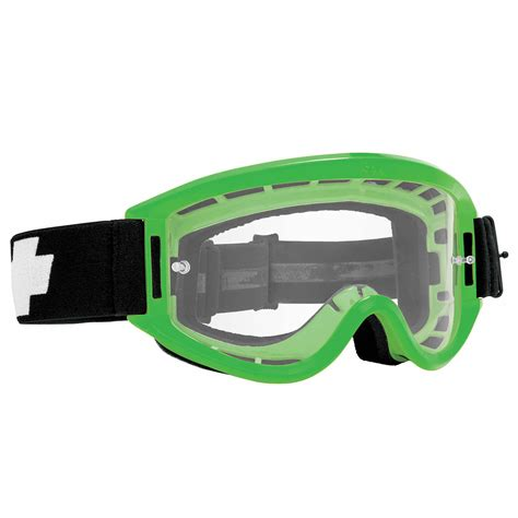 spy motocross goggles spy new mx breakaway cheap dirt bike clear lens black