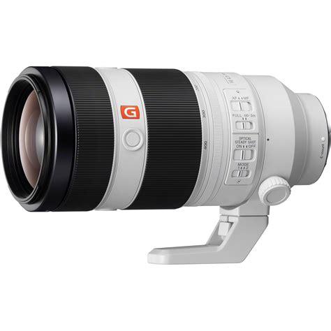 sony fe 100 400mm f 4 5 5 6 gm oss lens sel100400gm b h photo