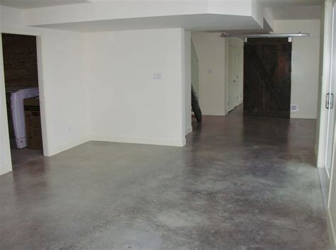 concrete basement floor paint new basement and tile
