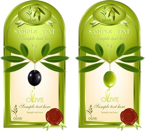 Olive Oil Label Free Vector Download 8 914 Free Vector For Commercial Use Format Ai Eps Olive Labels Templates