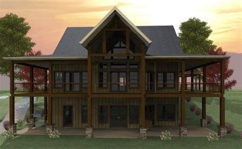 walkout basement house plans on lake pin by kaye edwards on lake house plans pinterest