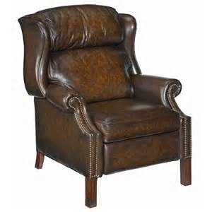 furniture reclining chairs high leg wing recliner