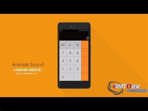 android tutorial make android calculator app how to xamarin android tutorial calculator app