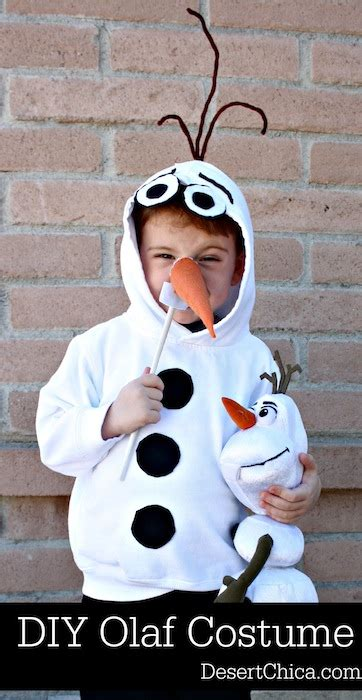 An Olaf Dress Up Costume To Say Quot Awwww Quot Over Ruffles And | diy olaf costume desert chica
