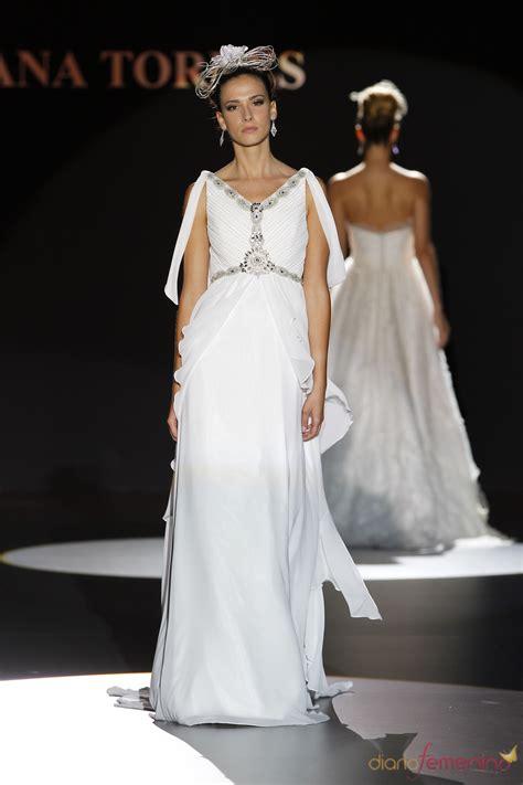 imagenes vestidos de novia estilo romano vestido estilo romano de ana torres