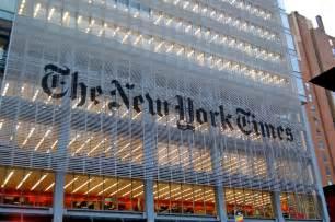 sede new york times vergonha internacional the new york times destaca colapso