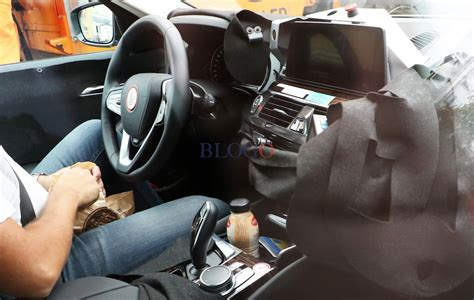 bmw inside 2017 upcoming bmw 5 series spied