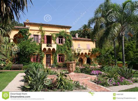 Italian Villa Style Homes french villa stock photo image 34921300