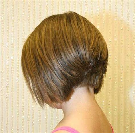 back view wavy short bob for thick hair 2015 15 layered bob back view bob hairstyles 2017 short