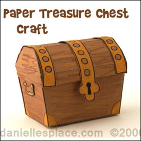treasure bible crafts for children