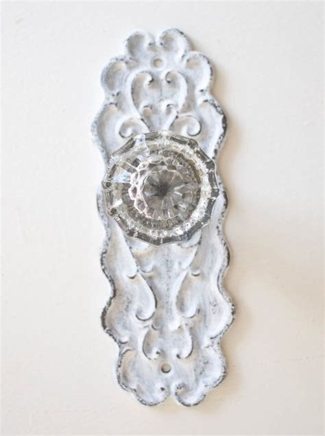 Vintage Door Knob Curtain Tie Backs by Vintage Door Knob Curtain Tie Back On White