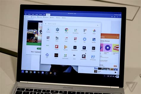 chrome app android android apps are just what chromebooks needed the verge