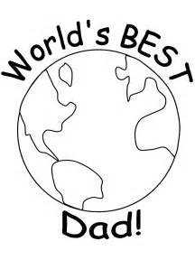 Father's Day Colouring Page  Father Pages sketch template