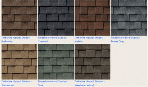architectural shingles colors roofing best gaf shingles reviews for your reference