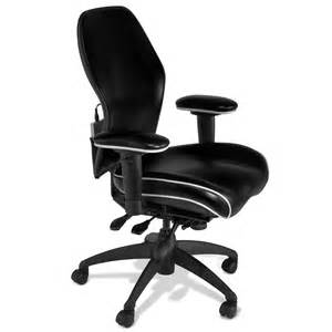 Heated Office Chair The Heated Lumbar Office Chair Hammacher Schlemmer