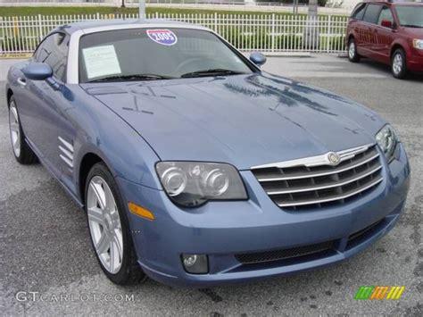 2005 aero blue pearlcoat chrysler crossfire limited coupe 438913 gtcarlot car color