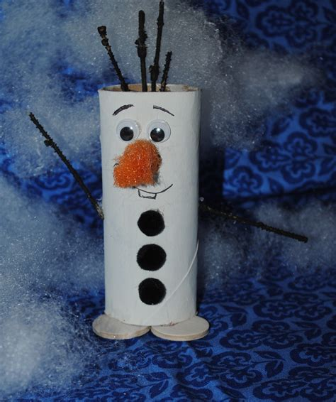 Empty Toilet Paper Roll Crafts - a disney delight 13 kids crafts inspired by frozen