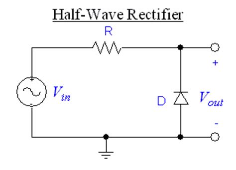 rectifier diode half wave diodes and transistors northwestern mechatronics wiki