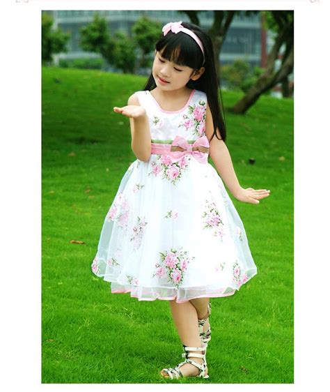 Anya Flower Pink Semi Baby Dress Baju Anak F0623 baju anak cewek korea style dress ribbon pinggang flower