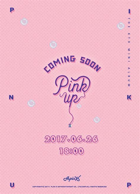 Apink Pink Up 6th Mini Album apink release new teaser for 6th mini album k pop concerts
