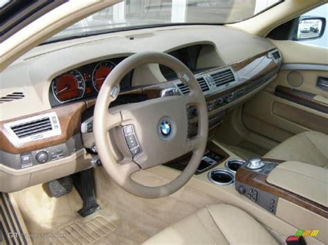 Bmw 745i Interior by Beige Beige Iii Interior 2004 Bmw 7 Series 745i Sedan