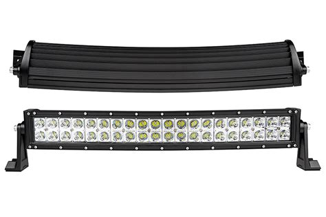 20 Led Light Bar 20 Quot Curved Road Led Light Bar 120w 9 600 Lumens Led Light Bars For Trucks
