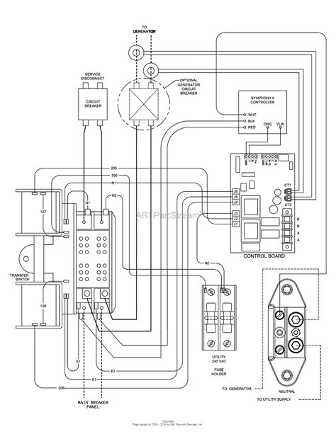 wiring diagram for generator transfer switch wiring