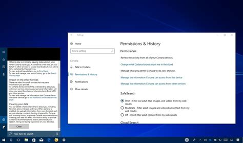 how to manage cortana settings on the windows 10 fall what s new with cortana in the windows 10 fall creators