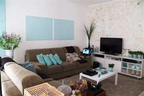 decoração sala de estar azul e marrom decora 231 227 o de sala pequena 80 modelos lindos para voc 234 se