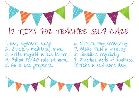 practicing presence simple self care strategies for teachers books ten tips for self care