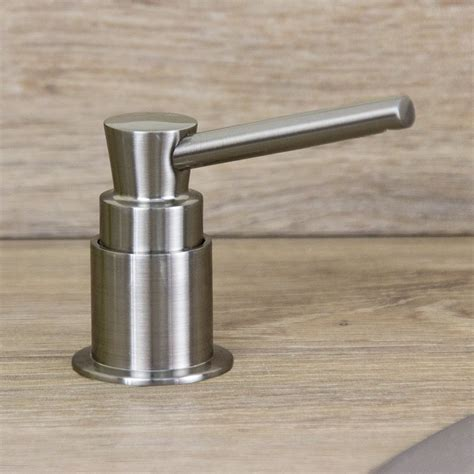 inspirations sink soap dispenser for soap supply system